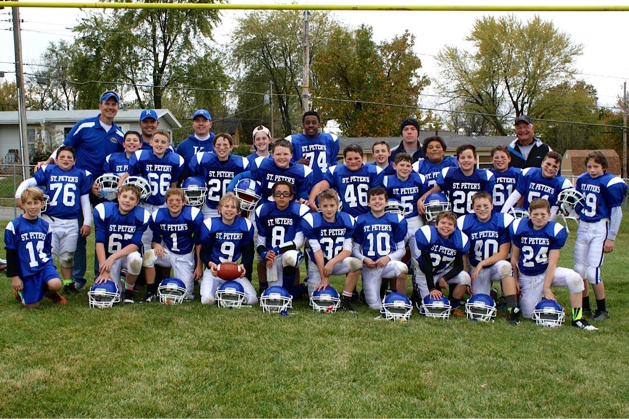 5th & 6th Grade Football team